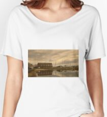 Tollesbury Harbour Boat Shed Women's Relaxed Fit T-Shirt