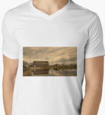 Tollesbury Harbour Boat Shed T-Shirt