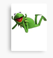 Kermit Canvas Print