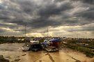 Tollesbury Boats by Nigel Bangert