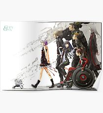 Guilty Crown - Undertaker Poster