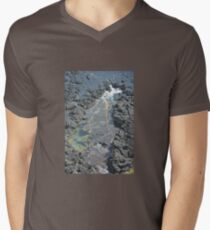 ROCKPOOL Mens V-Neck T-Shirt