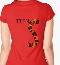 ttfn Women's Fitted Scoop T-Shirt