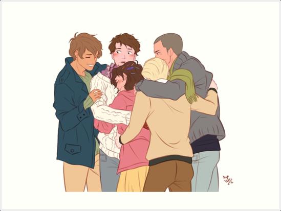 gangsey group hug by azeher