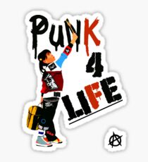 "Punky ""Punk 4 Life"" Brewster Sticker"