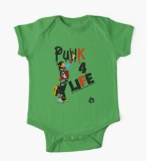 "Punky ""Punk 4 Life"" Brewster One Piece - Short Sleeve"