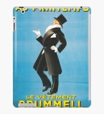 Vintage poster - Au Printemps iPad Case/Skin