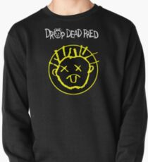 Drop Dead Fred Smiley Face Pullover