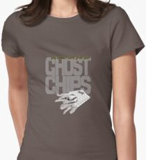 ghost chips Women's Fitted T-Shirt