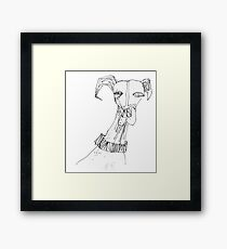 canine Framed Print