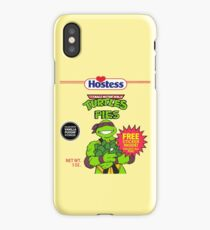Teenage Mutant Puddin' Pies iPhone Case/Skin