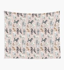 Oodles of Poodles Wall Tapestry