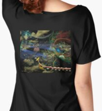 The History of the Bioluminoidal Fractalization Process Women's Relaxed Fit T-Shirt