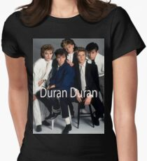Vintage Duran Duran Band by jebrak Fitted T-Shirt