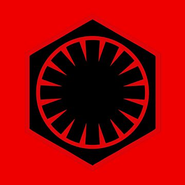 The First Order Logo by geekomic