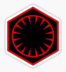 The First Order Logo Sticker