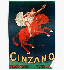 Vintage poster - Cinzano Vermouth Torino Poster
