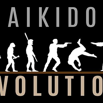 Aikido Evolution by SportsT-Shirts