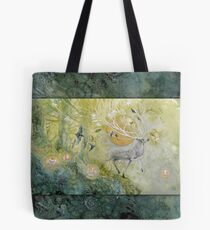 White Stag Emerald Forest Tote Bag