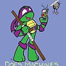 Teenage Mutant Ninja Turtles- Donatello by LillyKitten