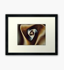 Be Swift to Hear Framed Print