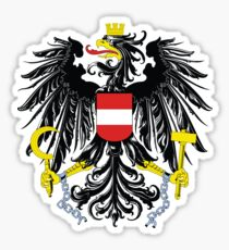 National coat of arms of Austria Sticker
