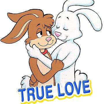 TRUE LOVE NESQUIK TRIX RABBITS  by Jeremyblog