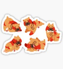 Mabari Pile Sticker