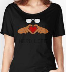 Nerd Life 1 Women's Relaxed Fit T-Shirt
