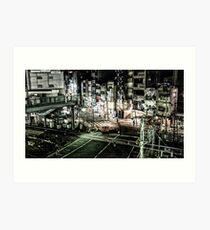 Tokyo Crossing Art Print