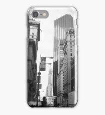 New York City Manhattan Grayscale Photograph iPhone Case/Skin