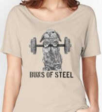 Buns of Steel (Light) Women's Relaxed Fit T-Shirt