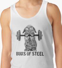 Buns of Steel (Light) Tank Top