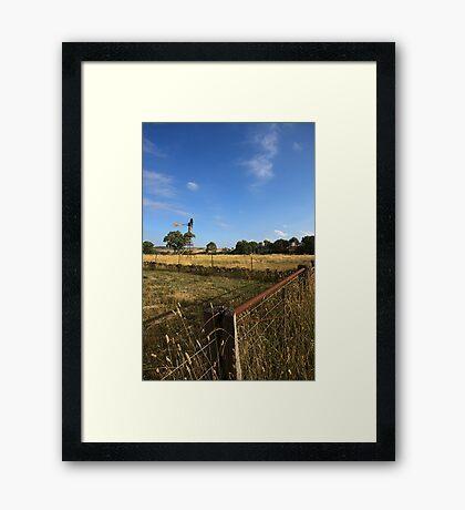Mernda - Country Melbourne Framed Print