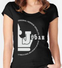 Tribe of Judah | Hebrew Israelites Women's Fitted Scoop T-Shirt