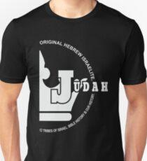 Stamm von Juda | Hebräische Israeliten Slim Fit T-Shirt
