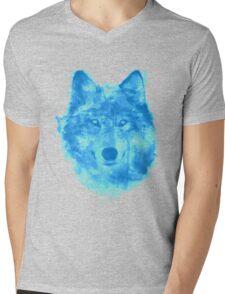 Wolfy Mens V-Neck T-Shirt