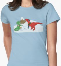 Prehistoric Snow Day T-Shirt