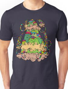Magic  Mountain Color Unisex T-Shirt