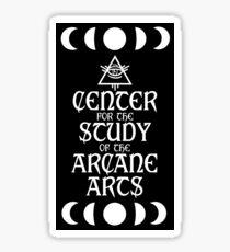 Center for the Arcane Arts Sticker