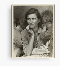 Migrant Mother Canvas Print