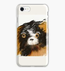 Black and Tan Puppy   iPhone Case/Skin