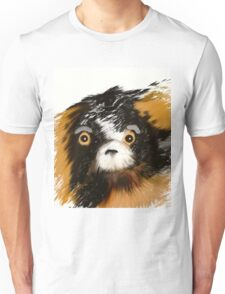 Black and Tan Puppy   Unisex T-Shirt