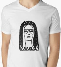 W.W.G.D.?: WHAT WOULD GLORIA DO? Men's V-Neck T-Shirt