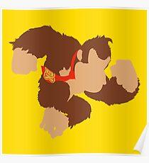Smash Bros - Donkey Kong Poster