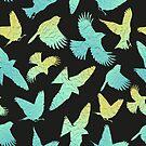 - Paper birds pattern - by Losenko  Mila