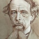 Charles Dickens  by Ray Jackson