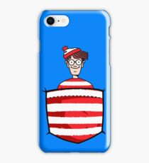 Wally / Waldo is in my pocket iPhone Case/Skin