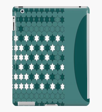 shap,blue,wear me  iPad Case/Skin
