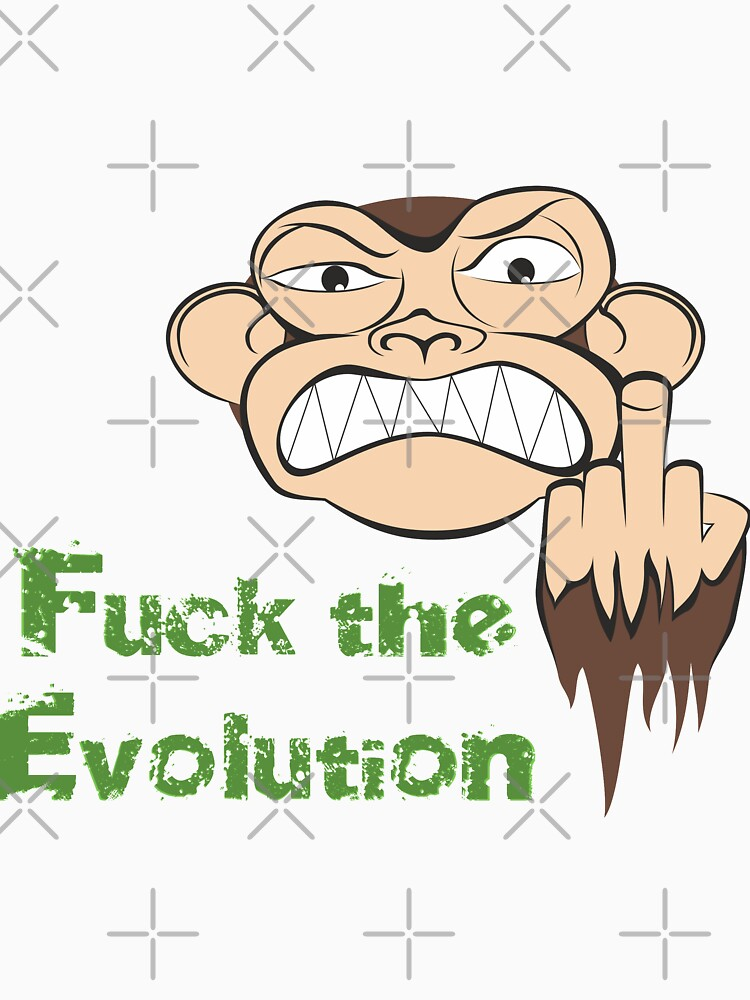 Wütende Affe Fuck The Evolution... von pASob-dESIGN